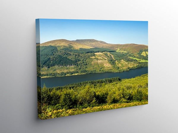 Waun Rydd Central Brecon Beacons, Canvas Print