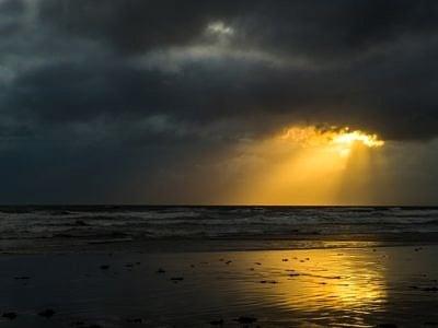 Sunburst through the Clouds
