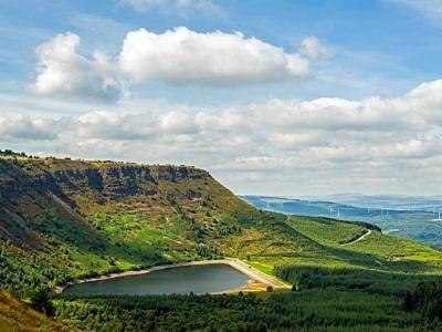 Craig y Llyn and Reservoir