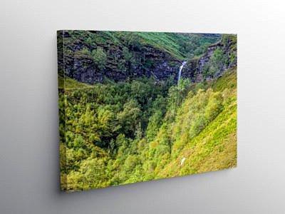 Blaenrhondda Waterfall Rhondda Fawr, Canvas Print