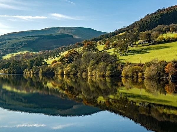 Reflections on Talybont Reservoir