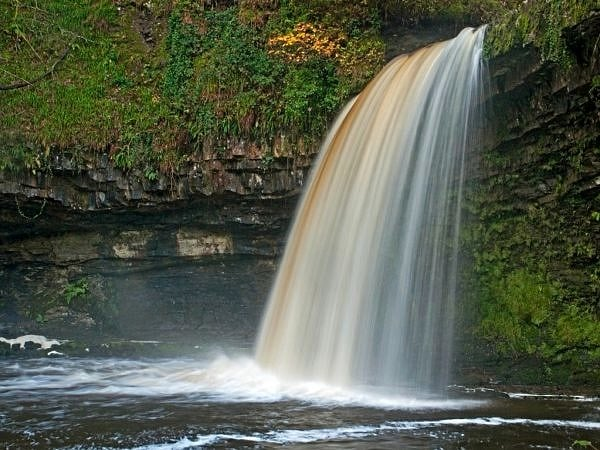 Scwd Gwladus Waterfall Vale of Neath