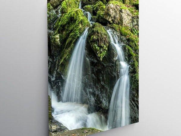 The Sychryd Falls at Pontneddfechan, Canvas Print