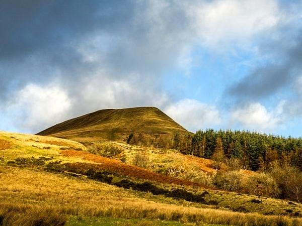 Torpantau Brecon Beacons South Wales December