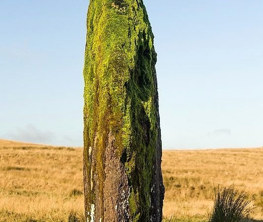 Maen Llia Standing Stone End On