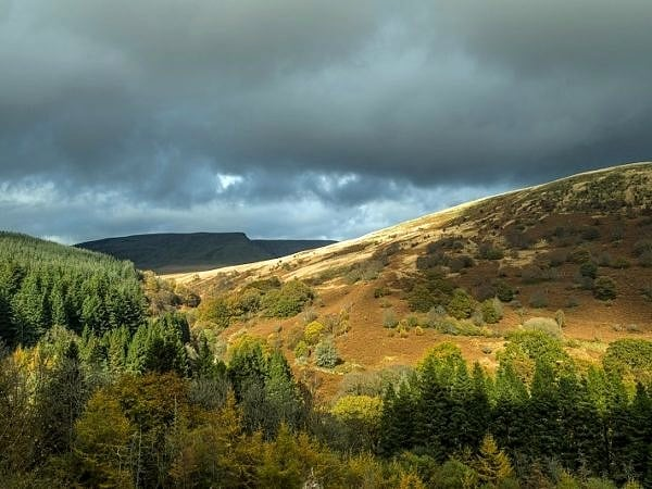 Allt Forgan in the Central Brecon Beacons