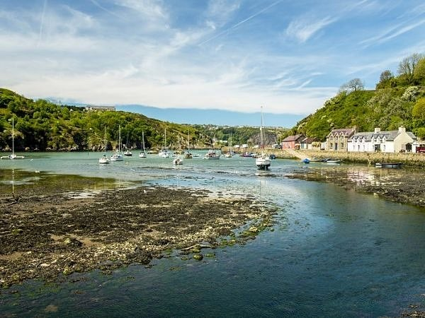 Lower Fishguard or Abergwaun Pembrokeshire