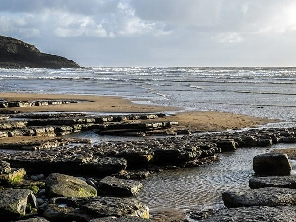 Dunraven Bay on a Cold February Afternoon
