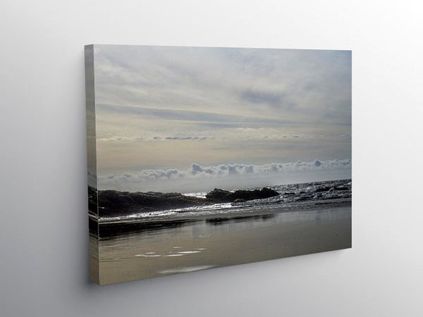 Witches Point Dunraven Bay Glamorgan Coast, Canvas Print