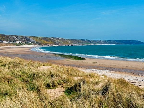 Port Eynon Beach Gower Peninsula
