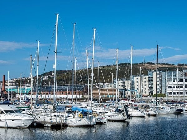 Swansea Marina South Wales