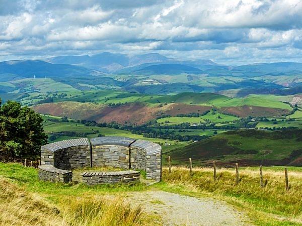 Wynford Vaughan Thomas Memorial Mid Wales