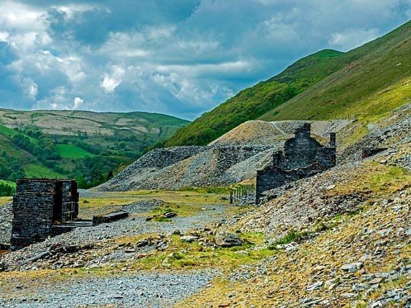 Cwnystwyth Old Lead Mines Ceredigion