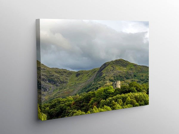 Dolbadarn Castle Llanberis Snowdonia, Canvas Print