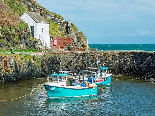 Porthgain Harbour north Pembrokeshire