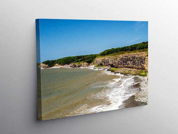 Glamorgan Heritage Coast St Donats, Canvas Print