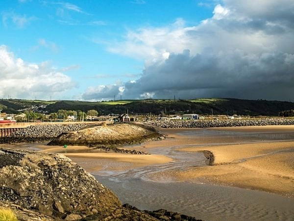 Burry Port Beach Carmarthenshire