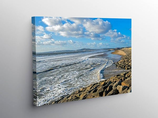 Aberavon Beach South Wales, Canvas Print