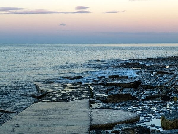 Dunraven Bay at Dawn Glamorgan Coast