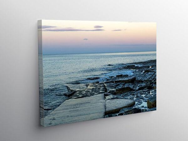 Dunraven Bay at Dawn Glamorgan Coast, Canvas Print