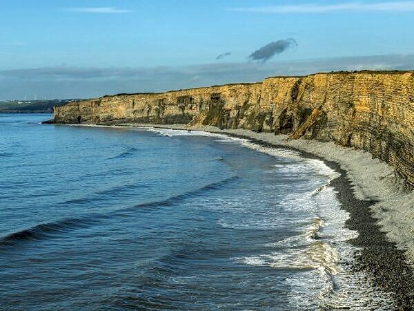 Nash Point Beach Glamorgan Heritage Coast Cliffs