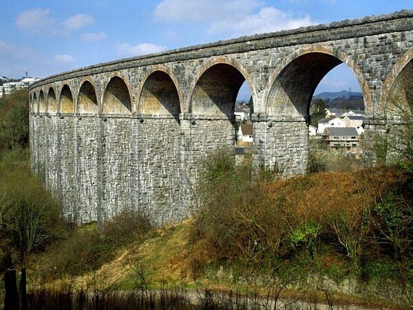 Cefn Coed y Cymmer Viaduct Merthyr Tydfil