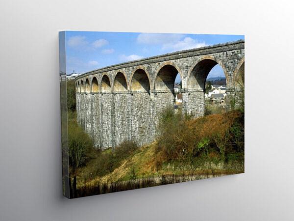 Cefn Coed y Cymmer Viaduct Merthyr Tydfil, Canvas Print