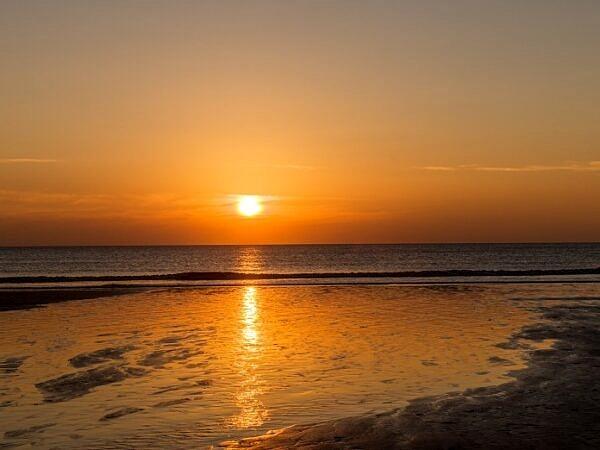 Dunraven Bay Sunset Glamorgan Heritage Coast