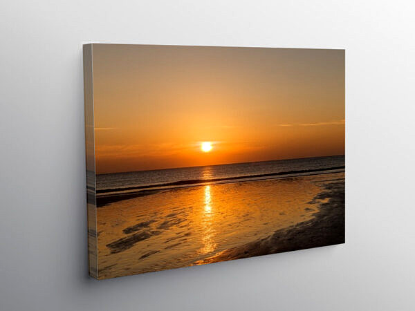 Dunraven Bay Sunset Glamorgan Heritage Coast, Canvas Print