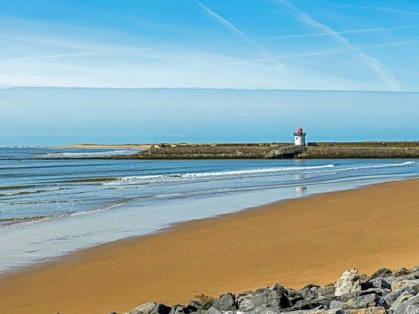 Beach at Burry Port Carmarthenshire