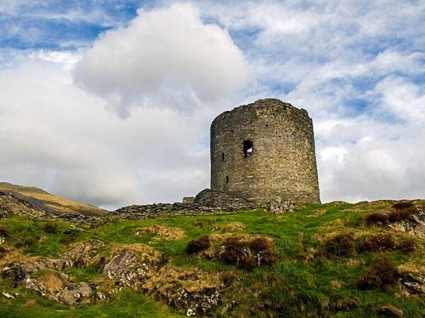 Dolbadarn Castle Tower Llanberis Gwynedd