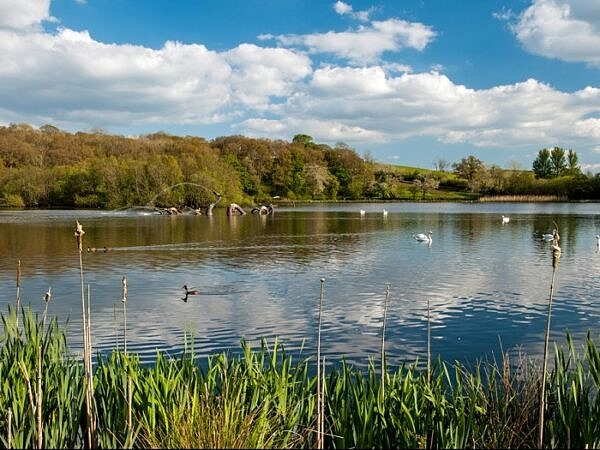 The Lake Llandrindod Wells Powys Mid Wales
