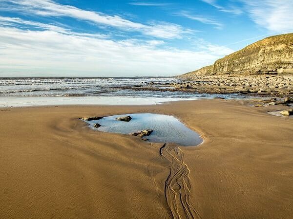 Dunraven Bay looking West Glamorgan Coast