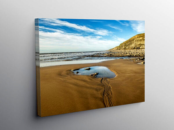 Dunraven Bay at Southerndown Glamorgan Coast, Canvas Print