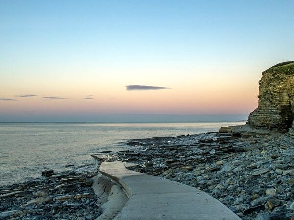 Dunraven Bay and Slipway Dawn Wales