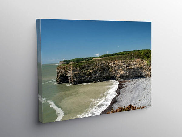Tresilian Cove on the Glamorgan Heritage Coast, Canvas Print