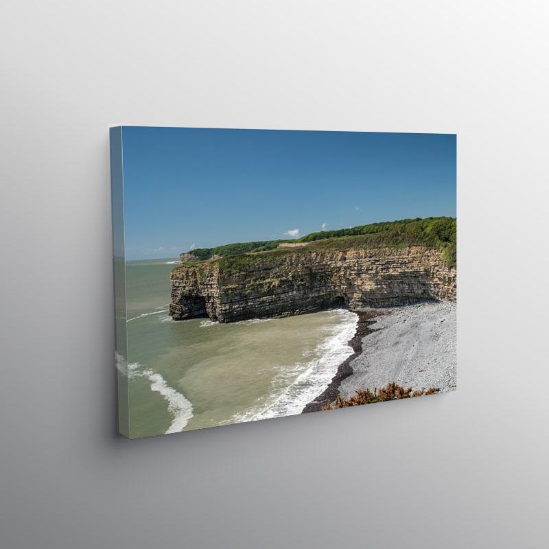Tresilian Cove on the Glamorgan Heritage Coast, Canvas Print