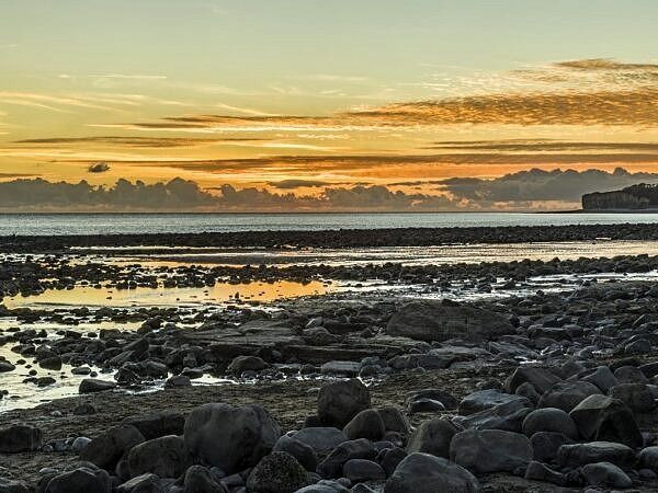Llantwit Major Beach Sunset