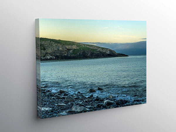 Early Morning at Dunraven Bay Glamorgan Heritage Coast, Canvas Print