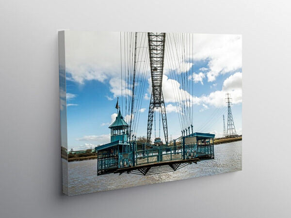 The Newport Transporter Bridge, Canvas Print