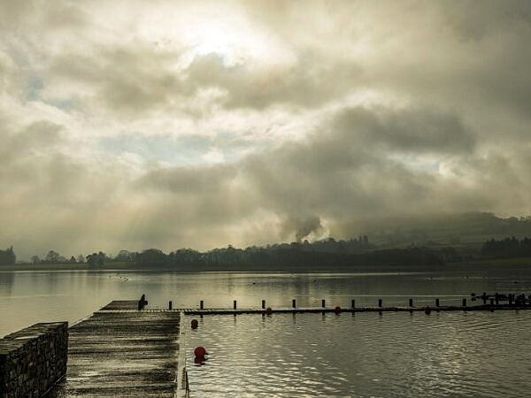 Llangorse Lake Brecon Beacons