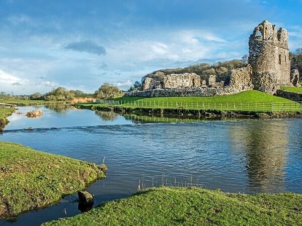 Ogmore Castle Ruins Ogmore Village