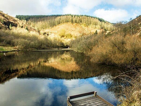 Upper Pool or Pond Clydach Vale Rhondda Valley