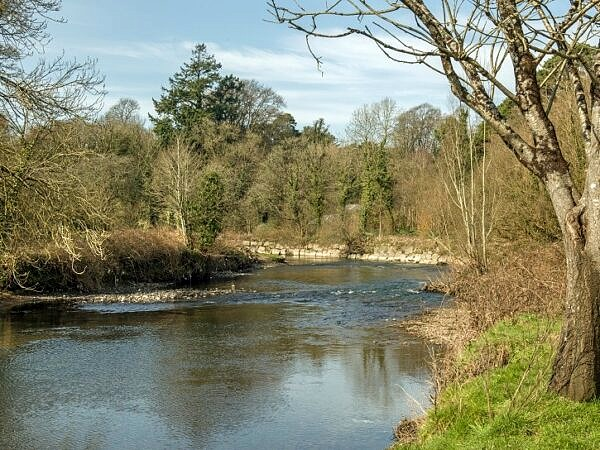 The River Ogmore at Merthyr Mawr south Wales