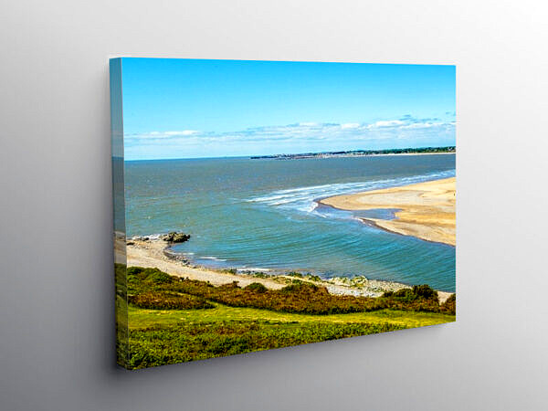 River Ogmore Estuary, Canvas Print