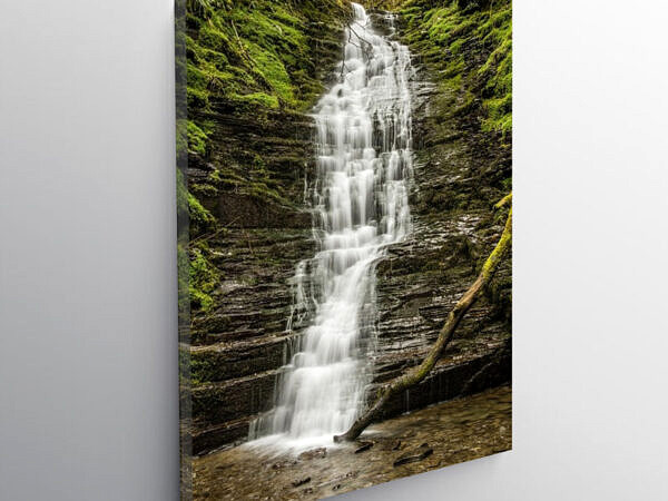 Water Break its Neck near New Radnor Radnorshire Powys, Canvas Print