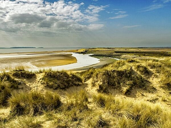 Sand Dunes Burry Port Beach Carmarthenshire
