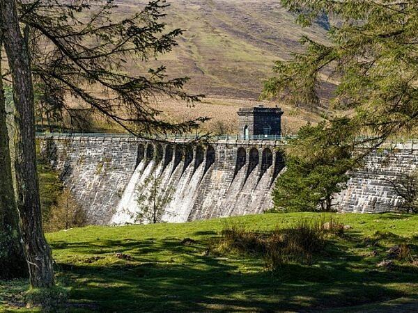 The Grwyne Fawr Reservoir Dam