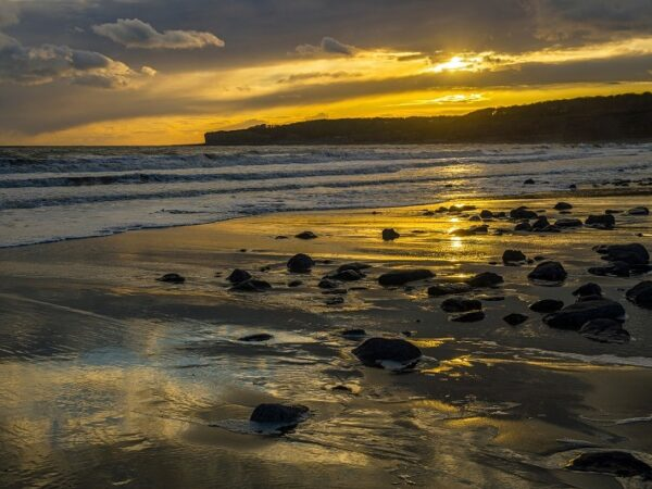 Llantwit Major Beach Glamorgan Heritage Coast Sunset