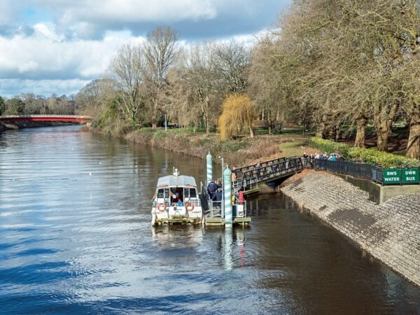River Taff and Ferry at Bute Park Cardiff web